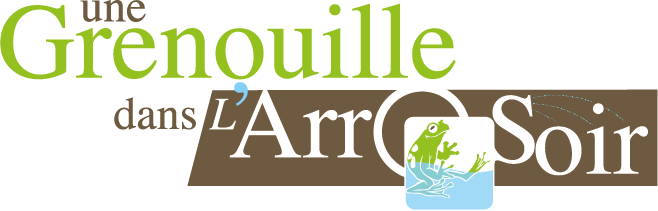 Logo Grenouille et arrosoir
